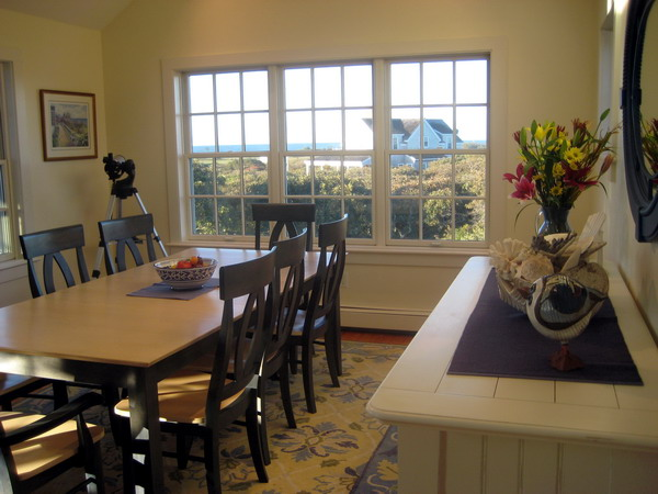 Lovely ocean views from the dining room